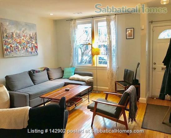 Furnished House in Shaw, DC - 3BR/1.5bath - available mid May Home Rental in Washington, District of Columbia, United States 2