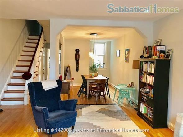 Furnished House in Shaw, DC - 3BR/1.5bath - available mid May Home Rental in Washington 3