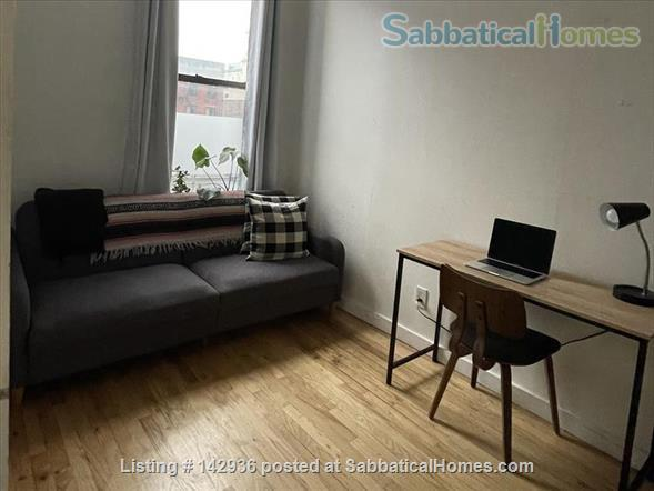 Sunny Room in Plant filled 2/1  Home Rental in Clinton Hill, New York, United States 3