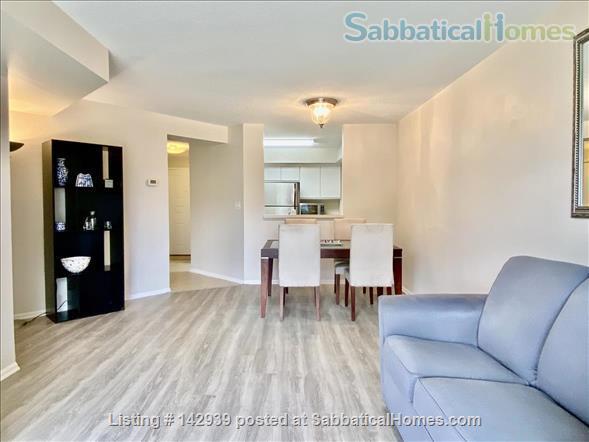 Furnished 1 bed condo - Perfect Rosslyn location Arlington Virginia Home Rental in Arlington, Virginia, United States 2