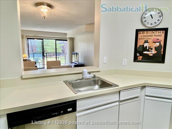 Furnished 1 bed condo - Perfect Rosslyn location Arlington Virginia Home Rental in Arlington, Virginia, United States 4
