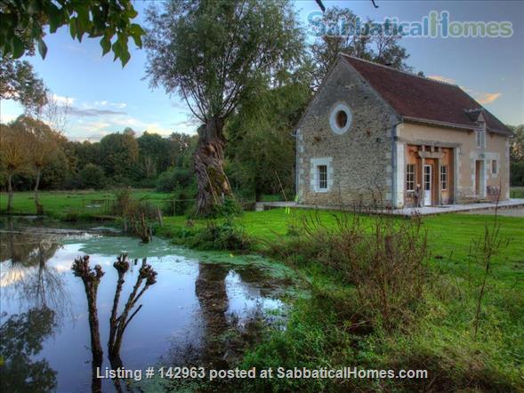 Beautiful cottage on a river mill estate Home Rental in Beaumont-Village, Centre-Val de Loire, France 1