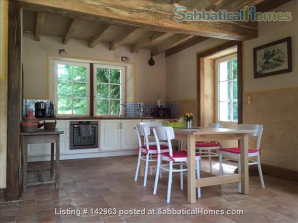 Beautiful cottage on a river mill estate Home Rental in Beaumont-Village, Centre-Val de Loire, France 0