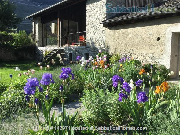 Large, charming, renovated barn in a children friendly environement, a hit for nature and sports fans Home Rental in Martigny, VS, Switzerland 1