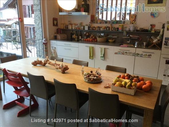 Large, charming, renovated barn in a children friendly environement, a hit for nature and sports fans Home Rental in Martigny, VS, Switzerland 0