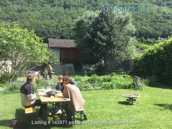 Large, charming, renovated barn in a children friendly environement, a hit for nature and sports fans Home Rental in Martigny, VS, Switzerland 2