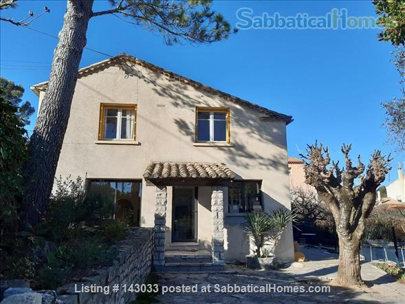 House in historic village, nearby University, CNRS and Agropolis Campus, Montpellier, France Home Rental in Montferrier-sur-Lez, Occitanie, France 1