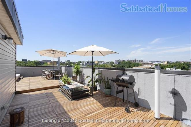 Sunsets on the Roof! 3-Bedroom Brooklyn Home in Historic Bed Stuy for one year Home Rental in Kings County, New York, United States 1
