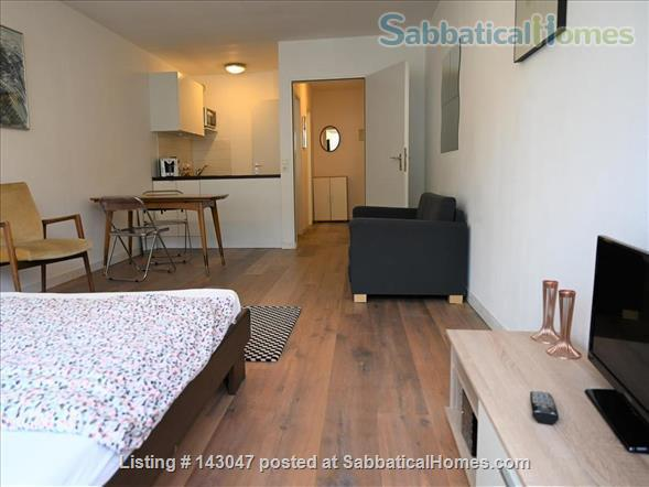 Apartment 1 room, Bathroom, Kitchen, Balcony just opposite the University Home Rental in München, BY, Germany 1