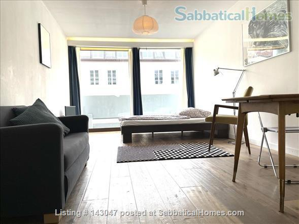 Apartment 1 room, Bathroom, Kitchen, Balcony just opposite the University Home Rental in München, BY, Germany 0