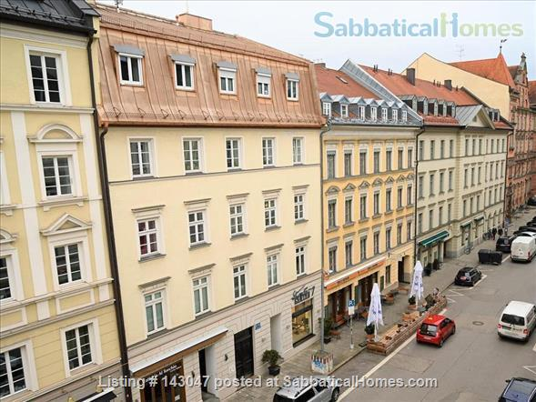 Apartment 1 room, Bathroom, Kitchen, Balcony just opposite the University Home Rental in München, BY, Germany 2