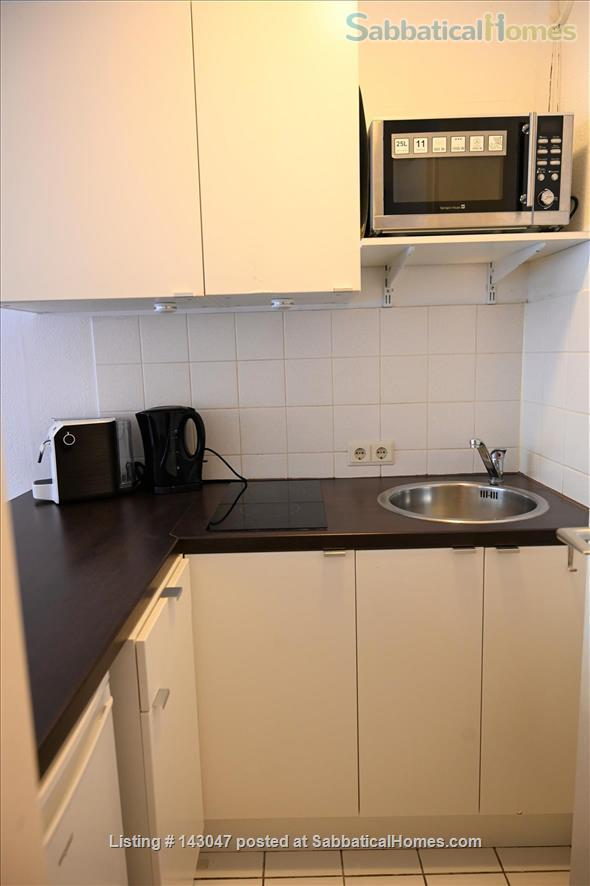 Apartment 1 room, Bathroom, Kitchen, Balcony just opposite the University Home Rental in München, BY, Germany 4