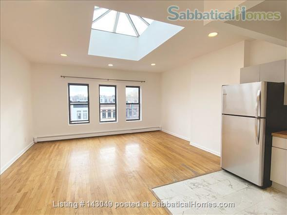 gorgeous 1 bedroom in a grand facade brownstone Home Rental in Bedford-Stuyvesant, New York, United States 0