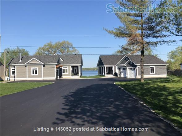 Waterfront Custom Built Home 10 Mins to Downtown Kingston Home Rental in Kingston, Ontario, Canada 0