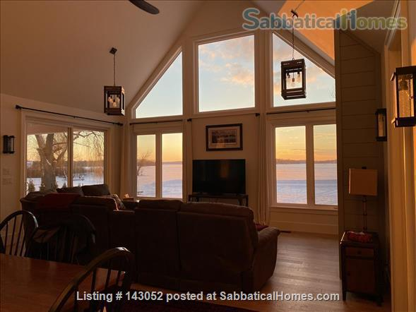 Waterfront Custom Built Home 10 Mins to Downtown Kingston Home Rental in Kingston, Ontario, Canada 6