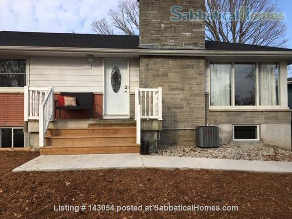 BRIGHT AND BEAUTIFULLY RENOVATED HOME Home Rental in Kingston, Ontario, Canada 1