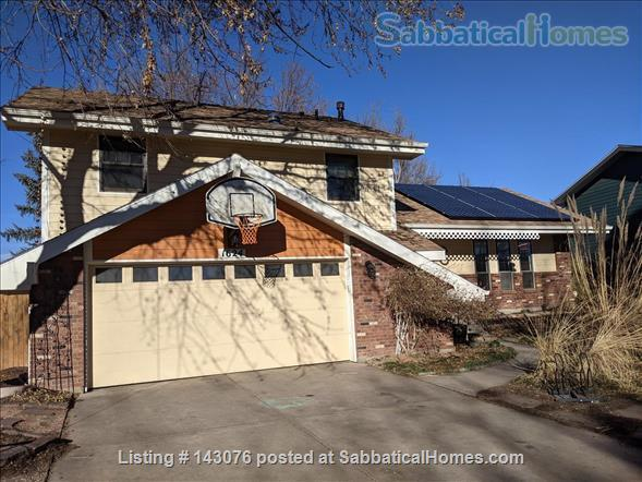 Desirable Parkwood East, all comforts, bike to CSU! Home Rental in Fort Collins, Colorado, United States 1