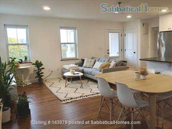 Modern 2 bedroom condo near downtown Ithaca, terrace with a view Home Rental in Ithaca, New York, United States 1
