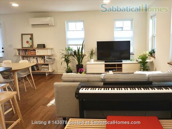 Modern 2 bedroom condo near downtown Ithaca, terrace with a view Home Rental in Ithaca, New York, United States 0