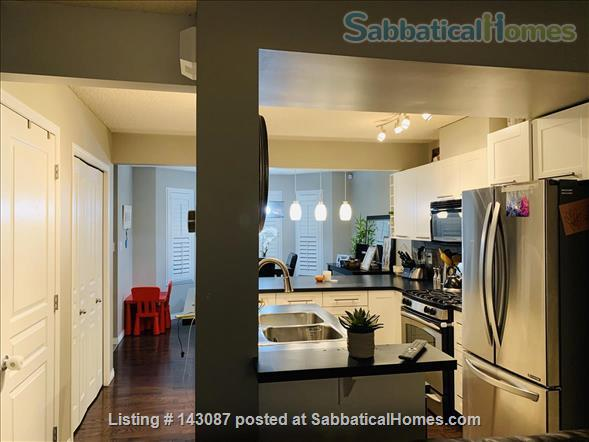 2 master suite, townhouse, easy access to river valley trails Home Rental in Edmonton, Alberta, Canada 2