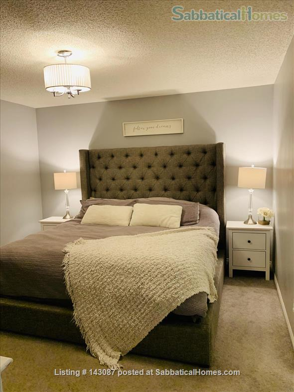 2 master suite, townhouse, easy access to river valley trails Home Rental in Edmonton, Alberta, Canada 6