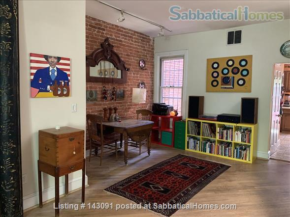 Gorgeous Victorian Row House in the Heart of Capitol Hill Home Rental in Washington, District of Columbia, United States 0