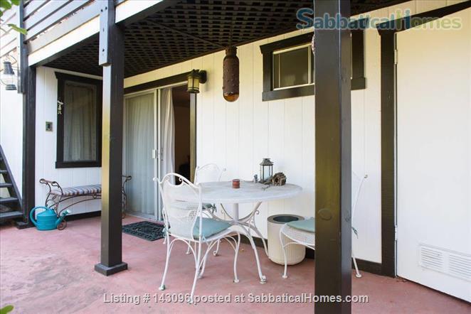 Private and Quiet 1bd/1ba Garden Retreat Home Rental in Santa Barbara, California, United States 2
