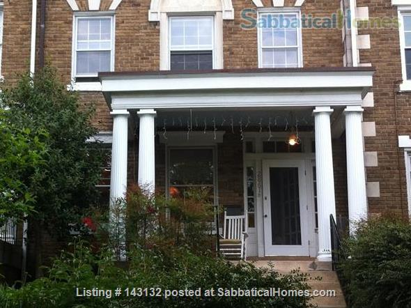 Graciously Furnished, Clean & Quiet  Private Home---Close To Metro & More Home Rental in Washington, District of Columbia, United States 1