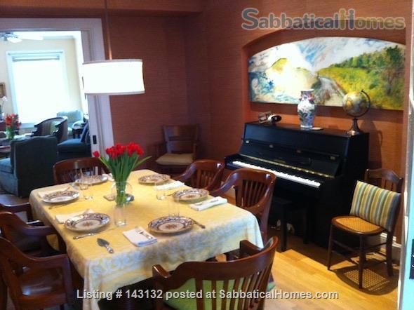 Graciously Furnished, Clean & Quiet  Private Home---Close To Metro & More Home Rental in Washington, District of Columbia, United States 2