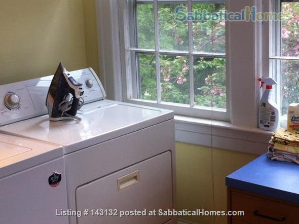 Graciously Furnished, Clean & Quiet  Private Home---Close To Metro & More Home Rental in Washington, District of Columbia, United States 7