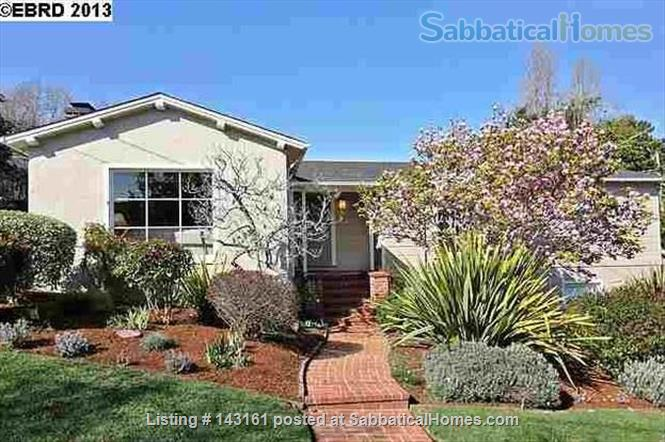 3 bed / 2 bath home near UC Berkeley with excellent public schools Home Rental in Piedmont, California, United States 1