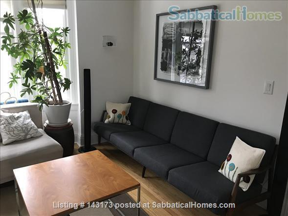 Bedroom with private deck in spacious, bright home Home Rental in Toronto, Ontario, Canada 1