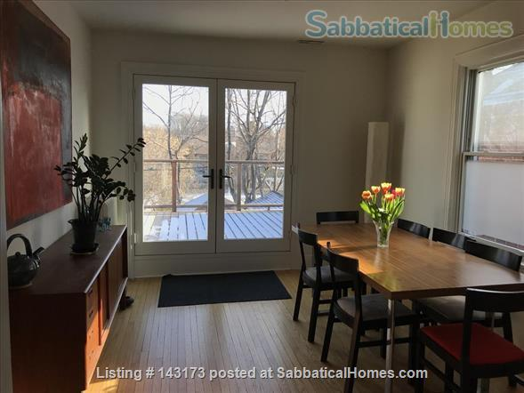 Bedroom with private deck in spacious, bright home Home Rental in Toronto, Ontario, Canada 2