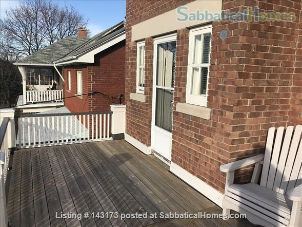 Bedroom with private deck in spacious, bright home Home Rental in Toronto, Ontario, Canada 4