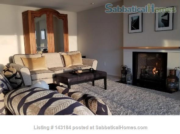 Amazing Waterfront Unit With Private Beach In A Garden Setting Home Rental in Seattle, Washington, United States 0