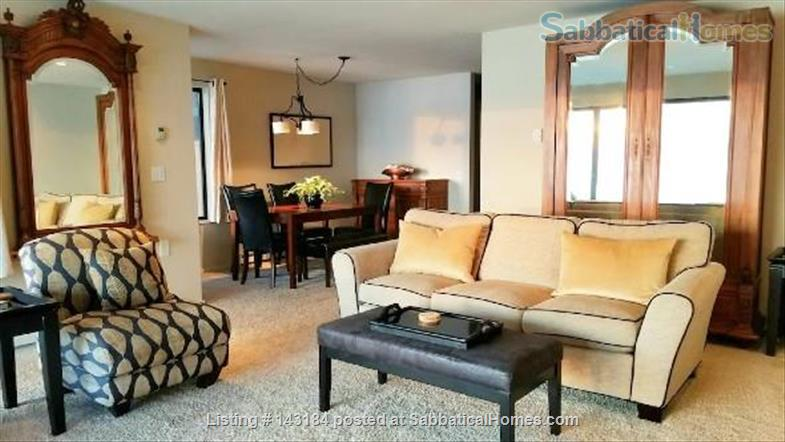 Amazing Waterfront Unit With Private Beach In A Garden Setting Home Rental in Seattle, Washington, United States 2