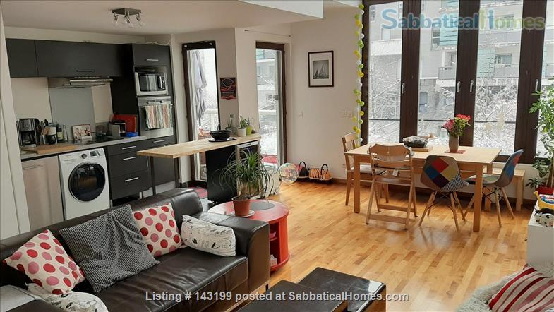 Fully Furnished 2 Bedrooms Available in Grenoble (city center) Home Exchange in Grenoble, Auvergne-Rhône-Alpes, France 0