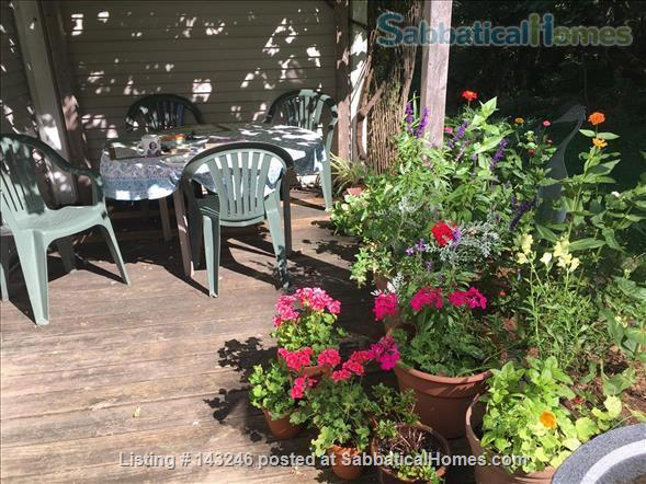 Sunny 3 bedroom end townhouse in intentional community Home Rental in Burlington 0