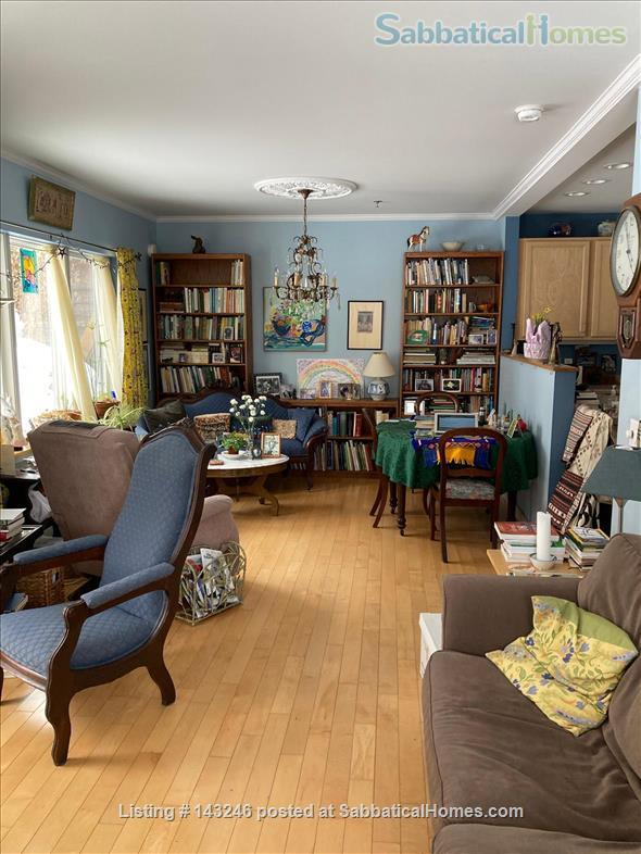Sunny 3 bedroom end townhouse in intentional community Home Rental in Burlington 2