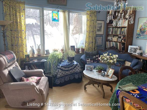 Sunny 3 bedroom end townhouse in intentional community Home Rental in Burlington 3