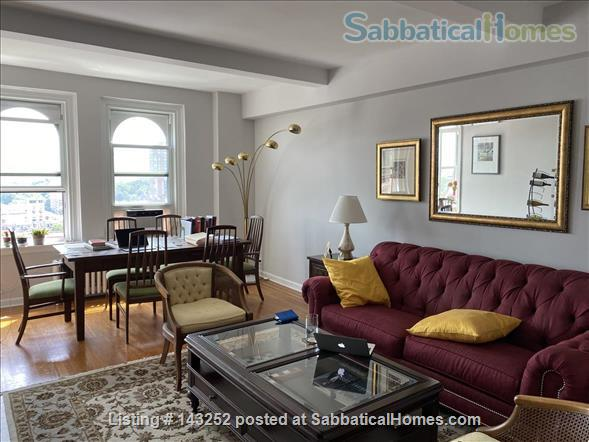 Lovely New York apartment with views Upper West Side Home Rental in New York, New York, United States 1