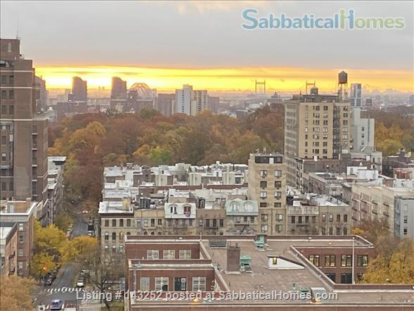 Lovely New York apartment with views Upper West Side Home Rental in New York, New York, United States 3