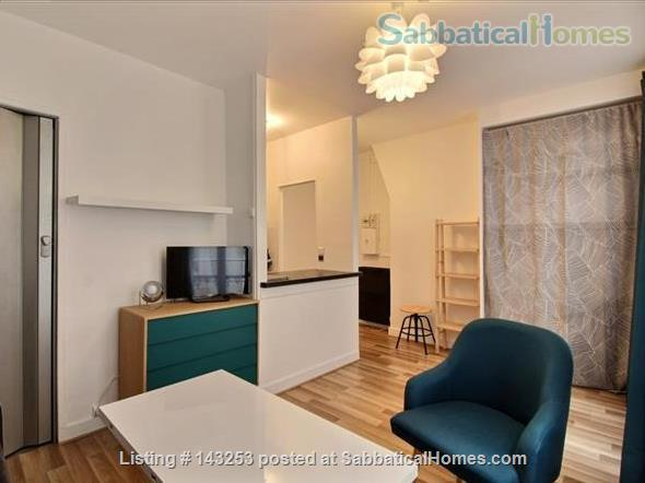 Charming and quiet studio apartment in the 11th (Bastille) Home Rental in Paris, IDF, France 7