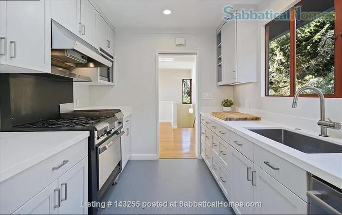 Beautiful light-filled house with Bay views near Rose Garden, walkable to UCB, North Berkeley restaurants, cafés, stores, farmers market Home Rental in Berkeley, California, United States 4