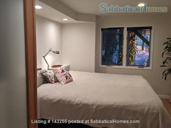 Beautiful light-filled house with Bay views near Rose Garden, walkable to UCB, North Berkeley restaurants, cafés, stores, farmers market Home Rental in Berkeley, California, United States 6