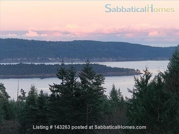 Magical Gulf Island 2-bedroom cabin with water view on 5 acres Home Rental in Salt Spring Island, British Columbia, Canada 1