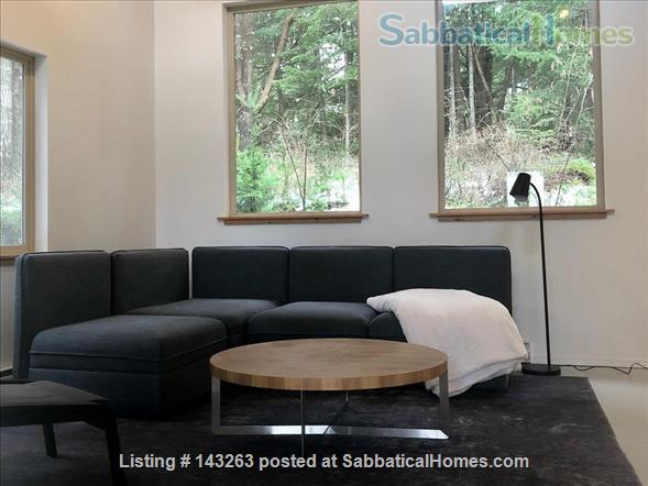Magical Gulf Island 2-bedroom cabin with water view on 5 acres Home Rental in Salt Spring Island, British Columbia, Canada 0