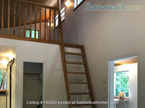 Magical Gulf Island 2-bedroom cabin with water view on 5 acres Home Rental in Salt Spring Island, British Columbia, Canada 5