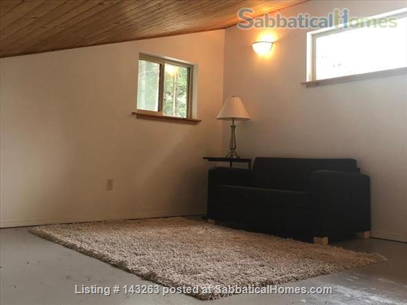 Magical Gulf Island 2-bedroom cabin with water view on 5 acres Home Rental in Salt Spring Island, British Columbia, Canada 7