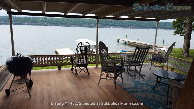 Magical Victorian Lakehouse  Home Rental in Ithaca, New York, United States 0